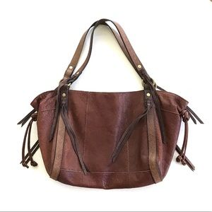 LUCKY Leather Big Tote Rare Brown OS